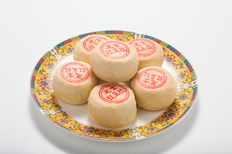 芝士红豆粒