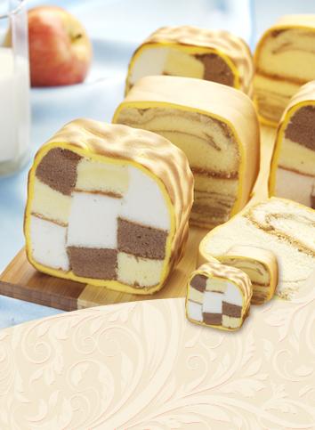 【虎皮蛋糕】