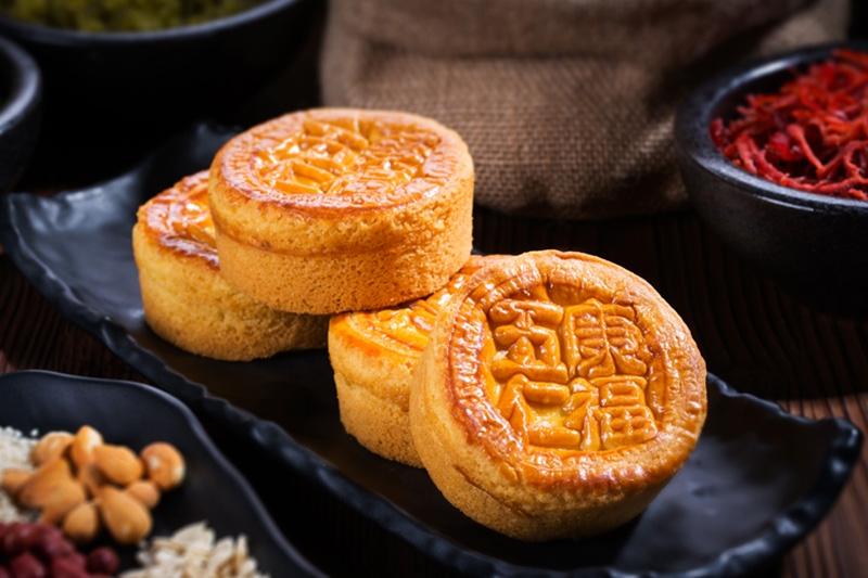 五仁老月饼
