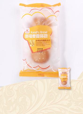 【康福麦香餐包-豆沙面包条】